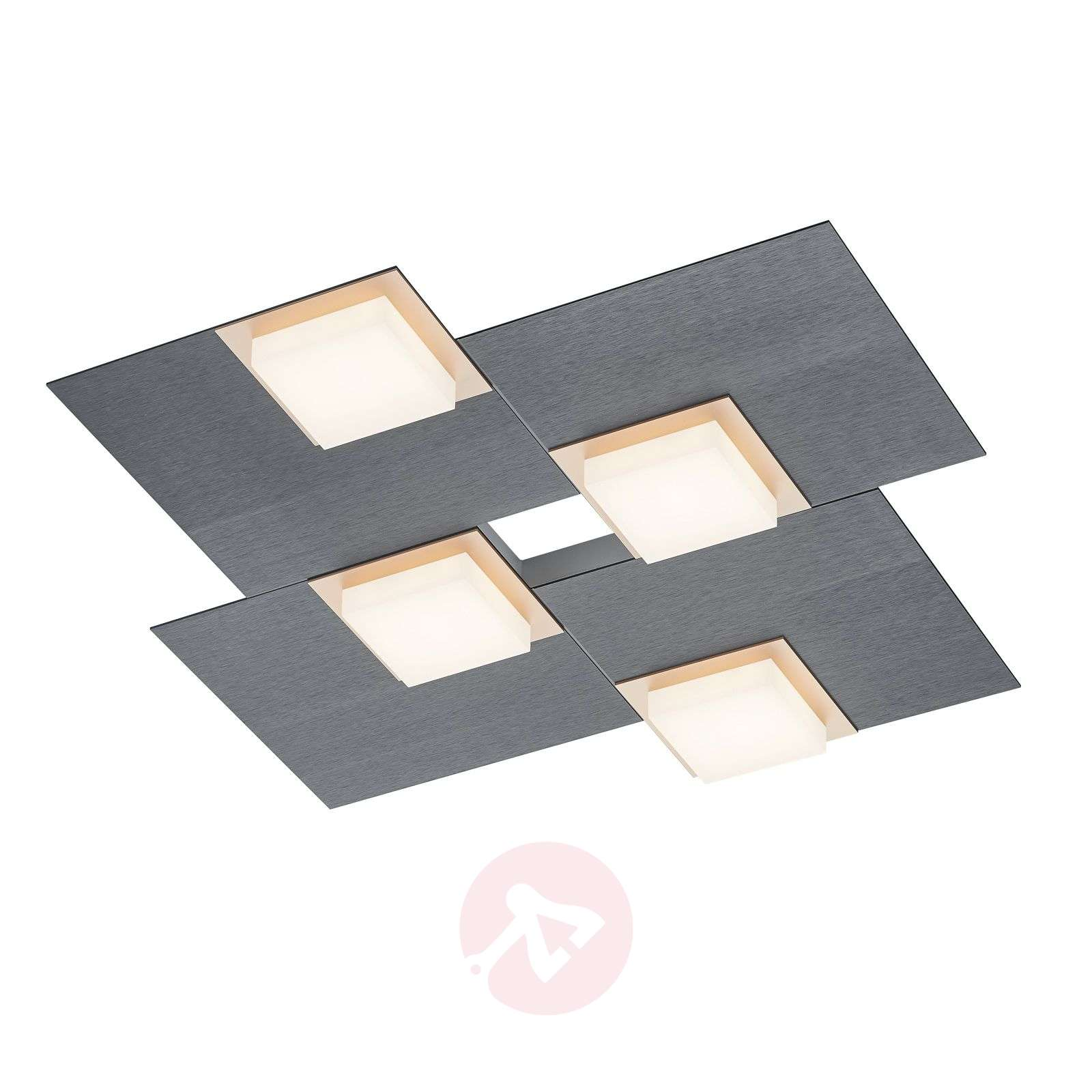 BANKAMP Quadro lampa sufitowa LED 32 W antracyt-1572027-01