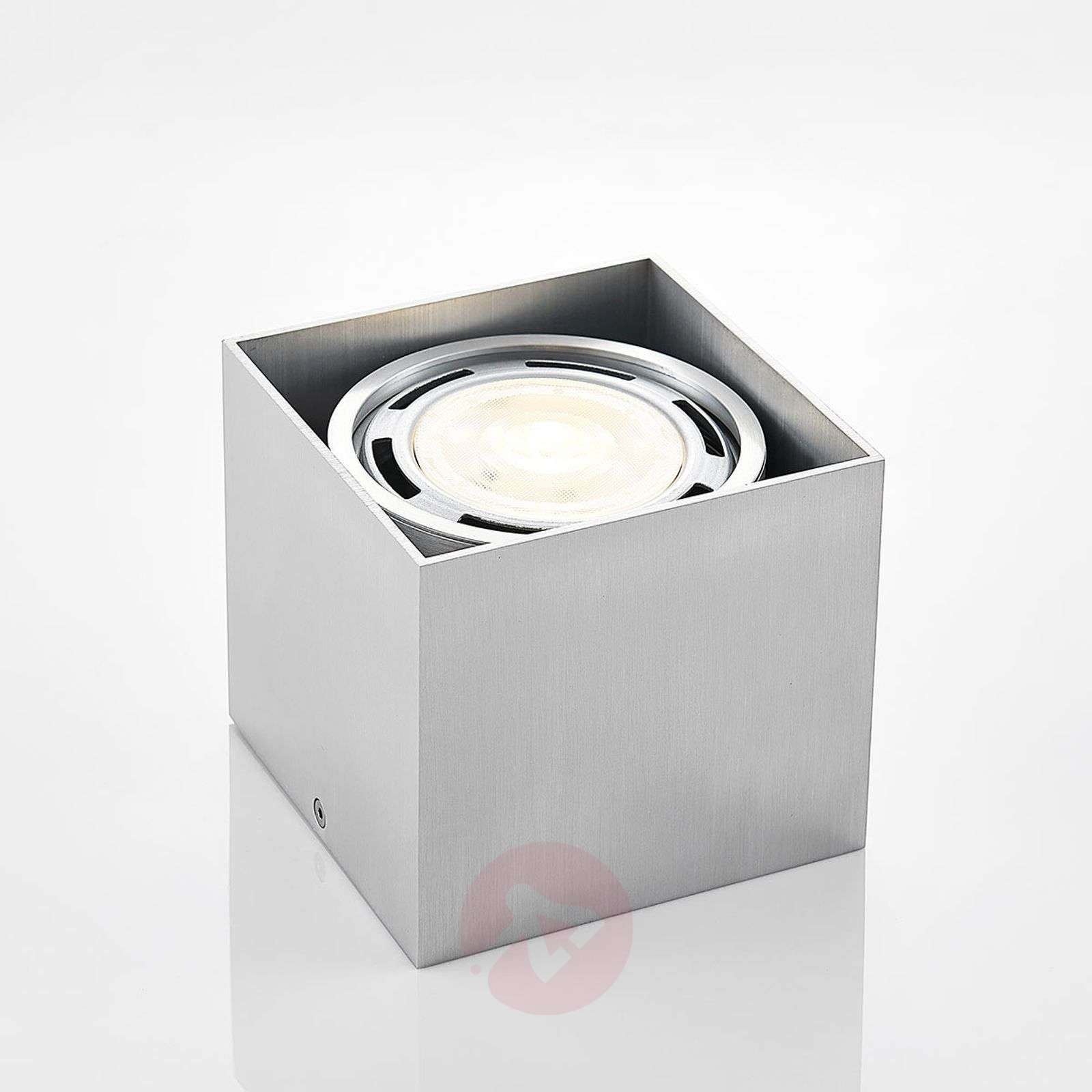 Downlight LED Rosalie, kanciasty, alu, 1-punktowy-9621906-02