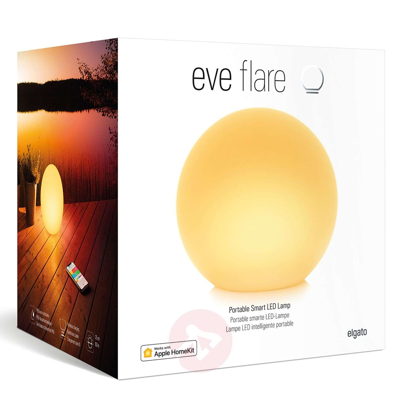 Eve Flare inteligentna lampa LED-2029010-01