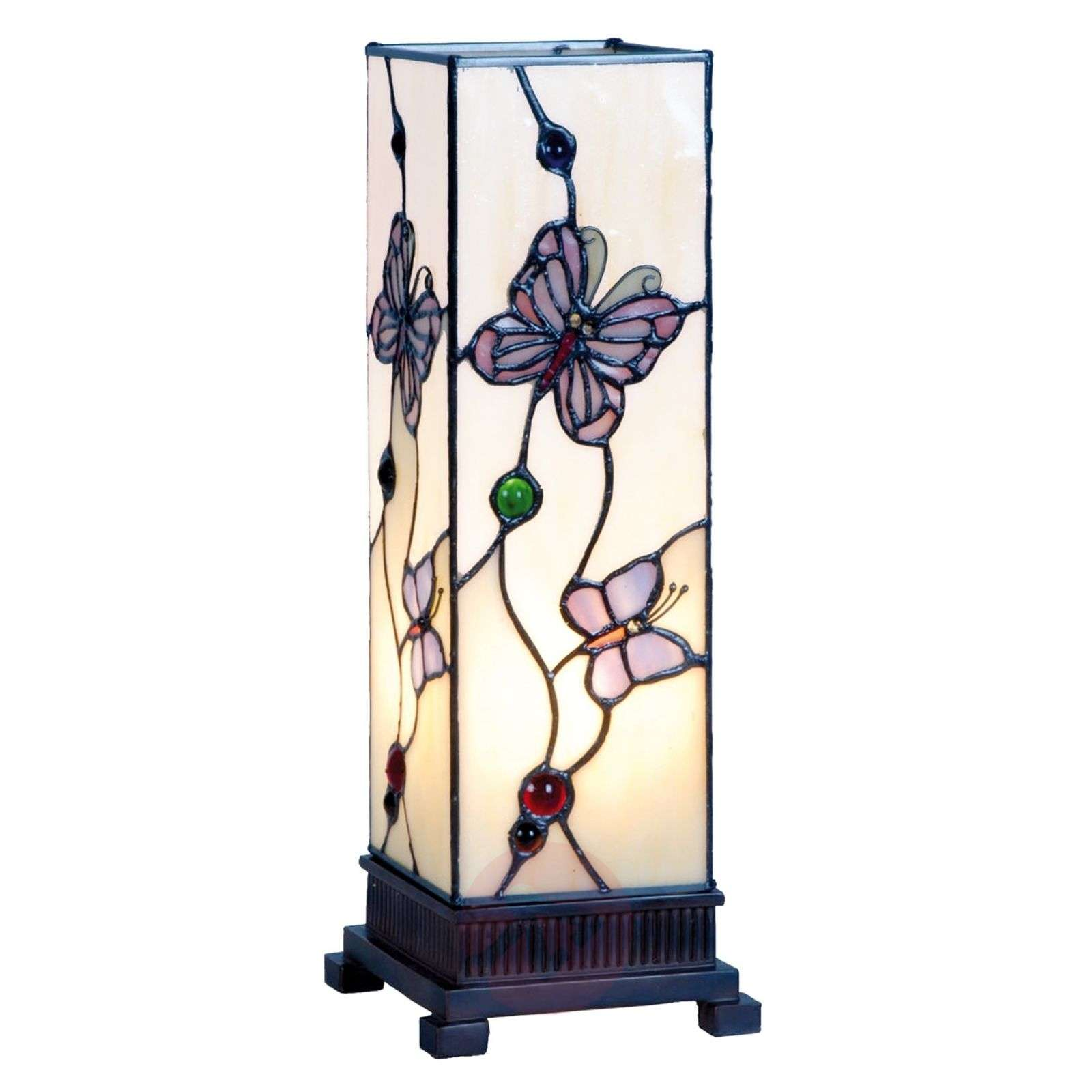 Mały lampion Rosy Butterfly 35 cm-6064085-01