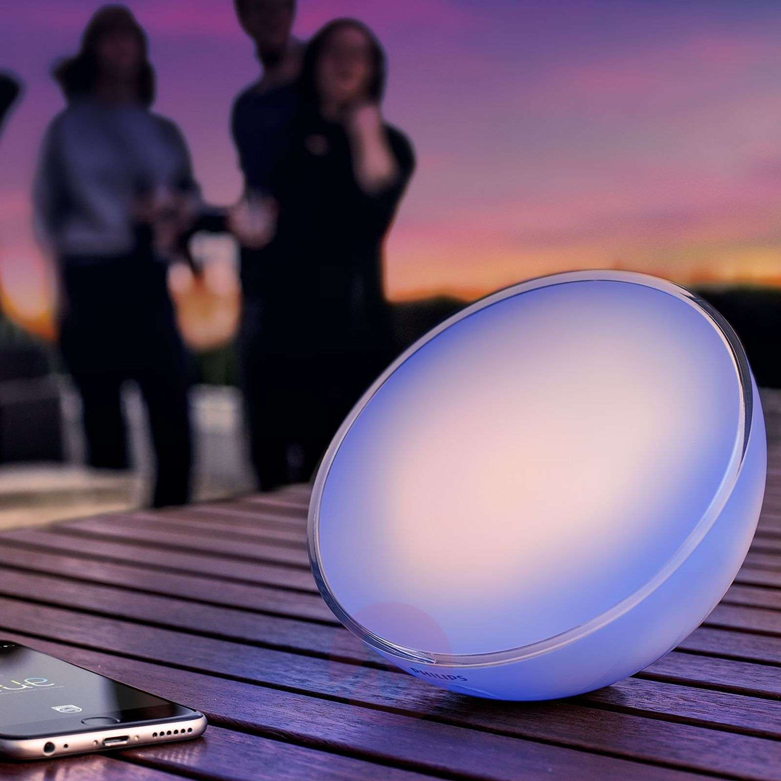 Philips Hue Go, White + Color Ambiance-7531604-010