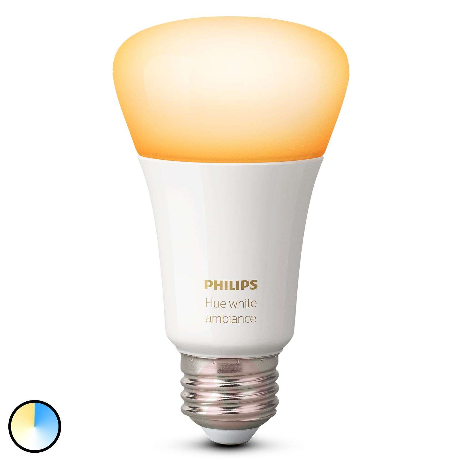 Philips Hue White Ambiance E27 8,5W-7534125-01