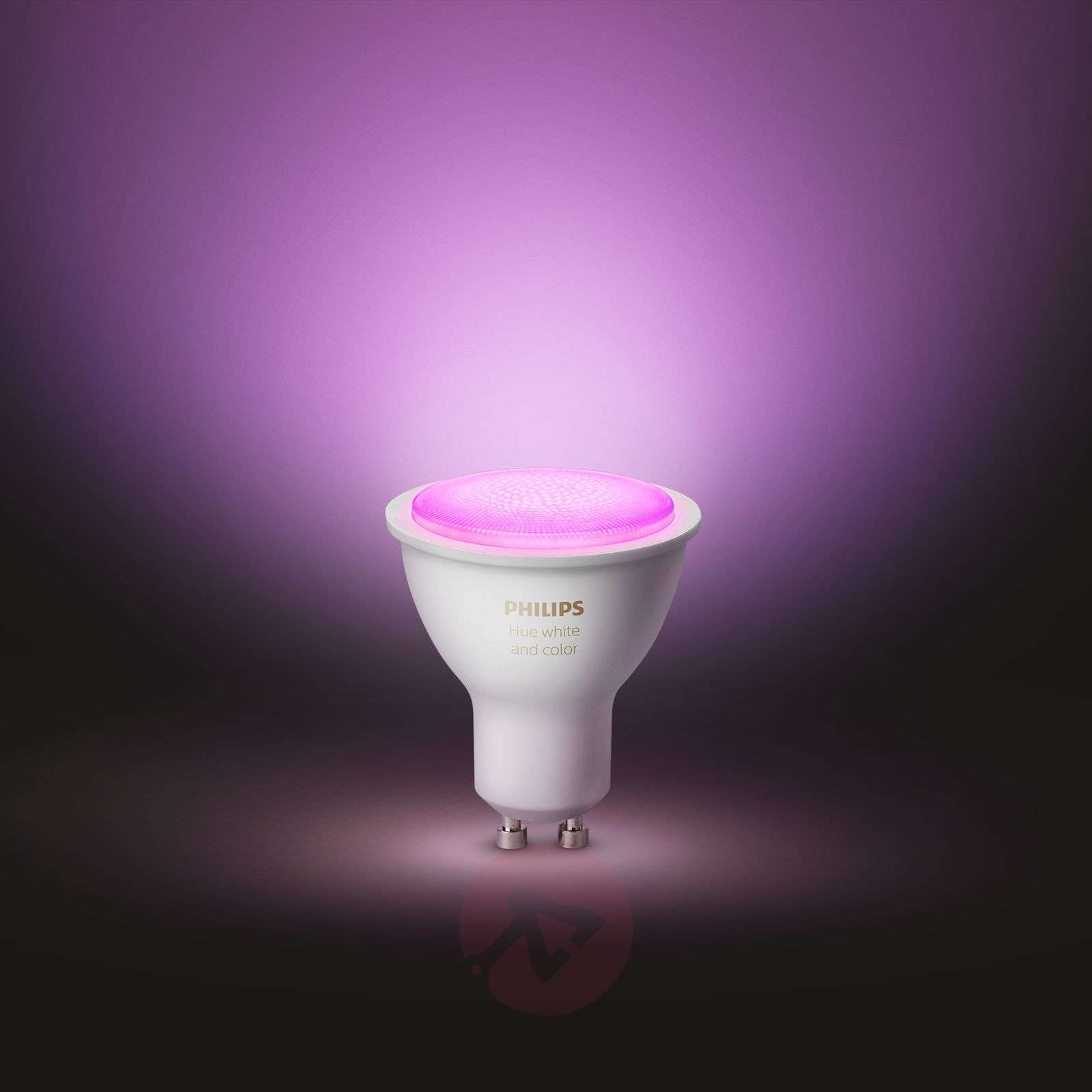Philips Hue White and Color Ambiance 5,7W GU10, 2szt-7534131-01