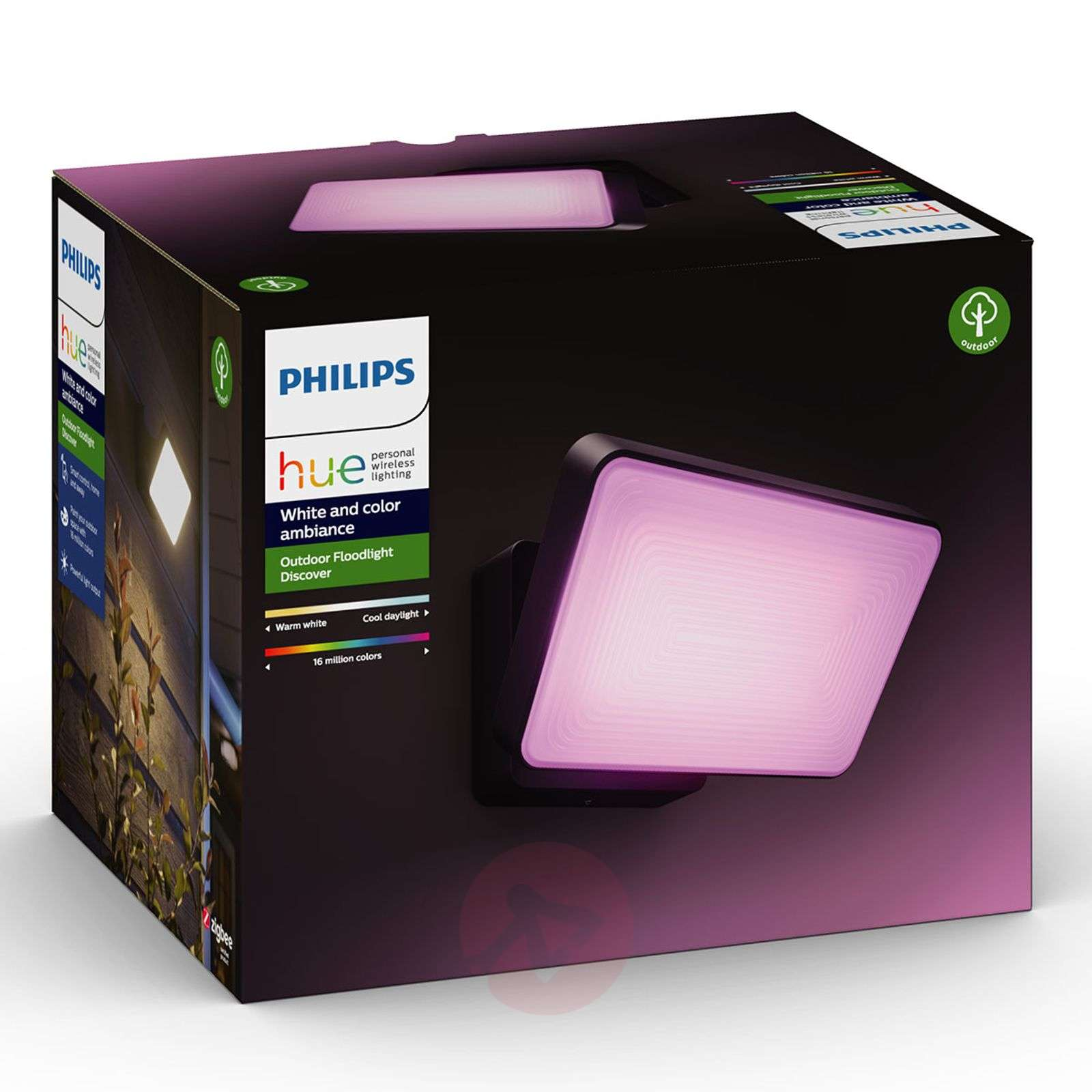 Philips Hue White+Color Discover reflektor LED-7534102-01