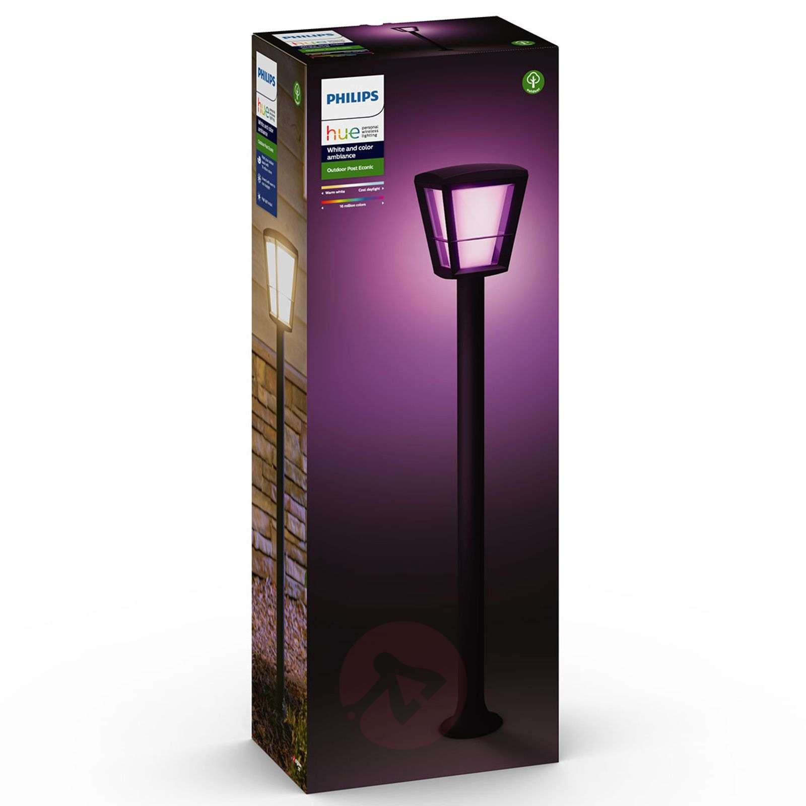 Philips Hue White+Color Econic słupek ogrodowy LED-7534120-02