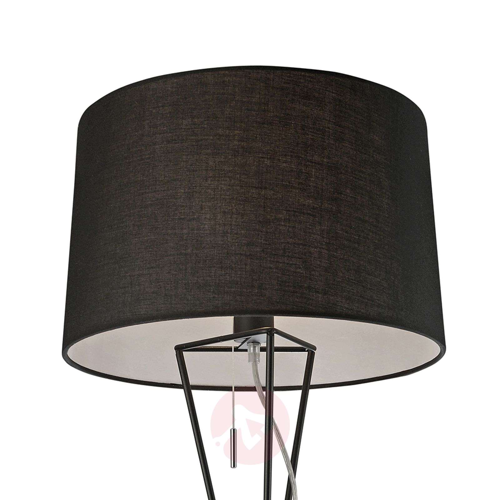 Villeroy and Boch New York – lampa stojąca, czarna-8507610-01