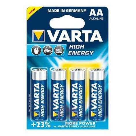 Baterie VARTA High Energy Mignon 4906 AA