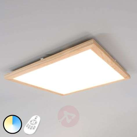Panel LED Addison, drewno, 2 700-6 200 K