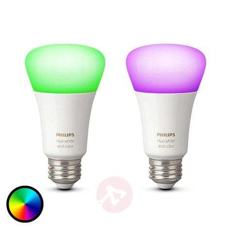 Philips Hue 2 x 10W E27 White + Color Ambiance