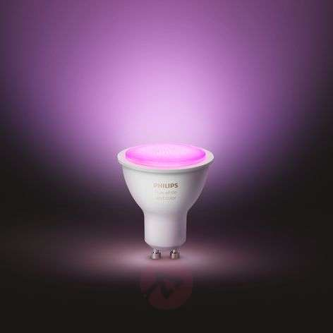 Philips Hue White & Color Ambiance 5,7W GU10, 2szt