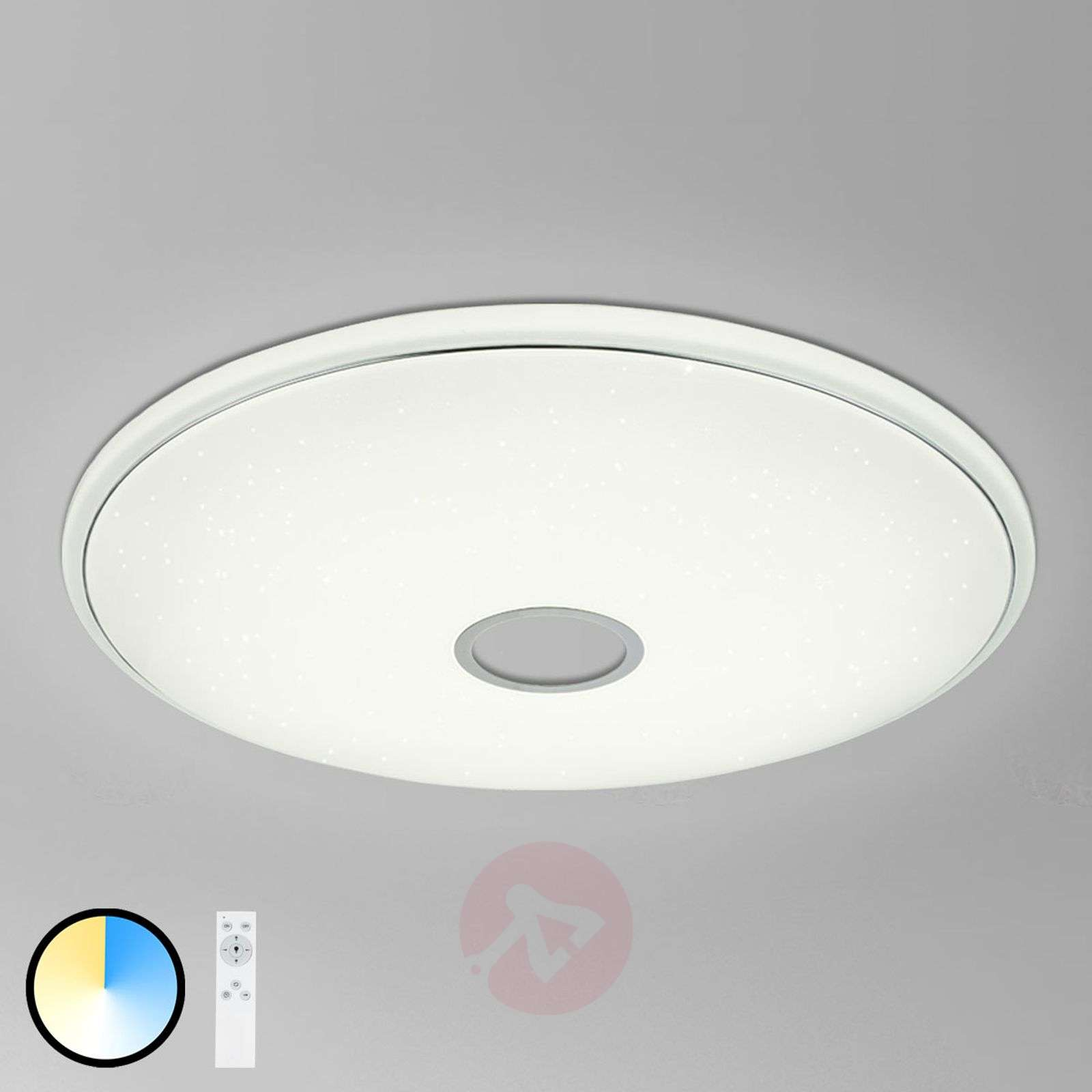 Lampa sufitowa LED Connor z pilotem