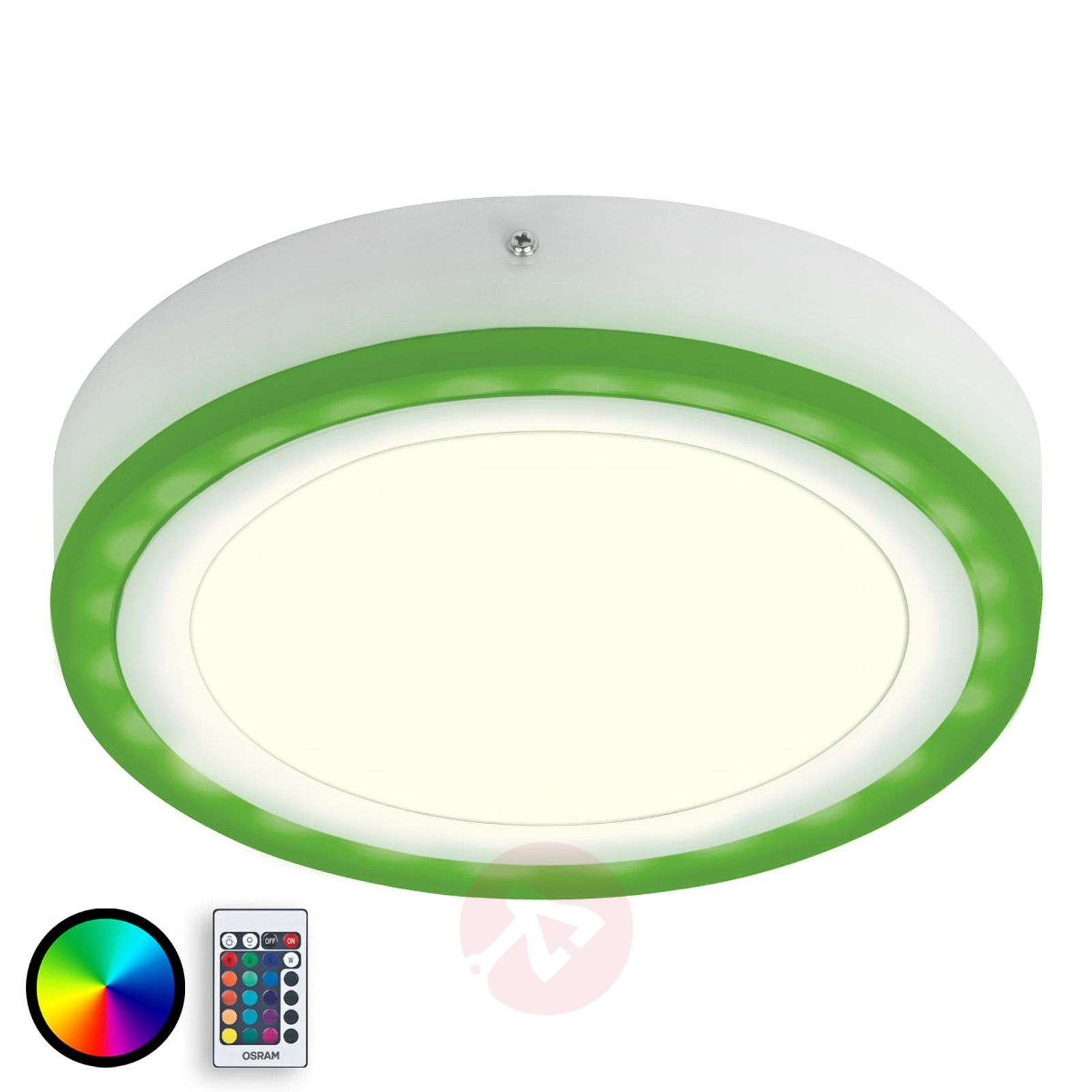 Color+White Round - lampa sufitowa LED, 36 W