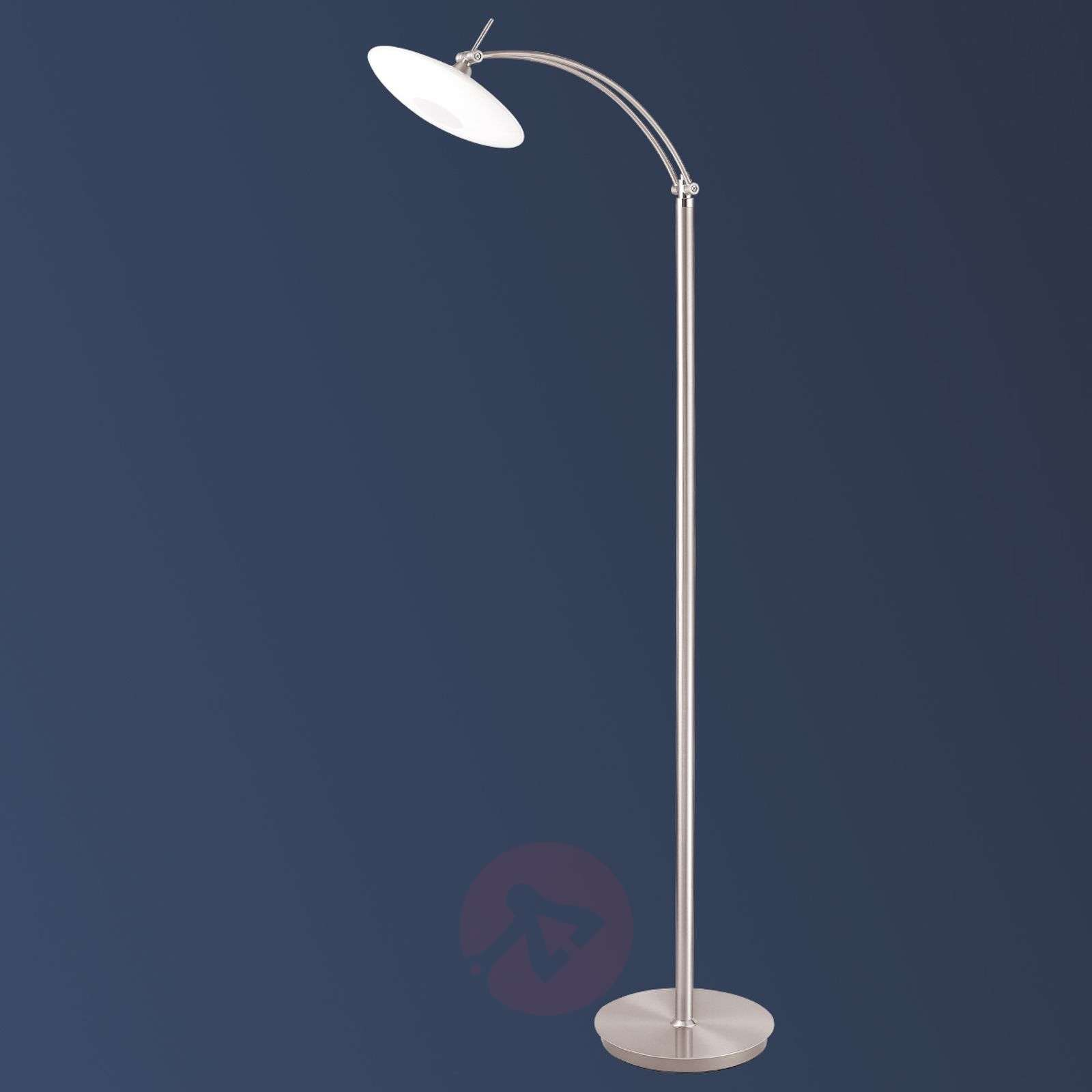 Lampa stojąca LED NEW ELINA NICKEL, 1-pkt.