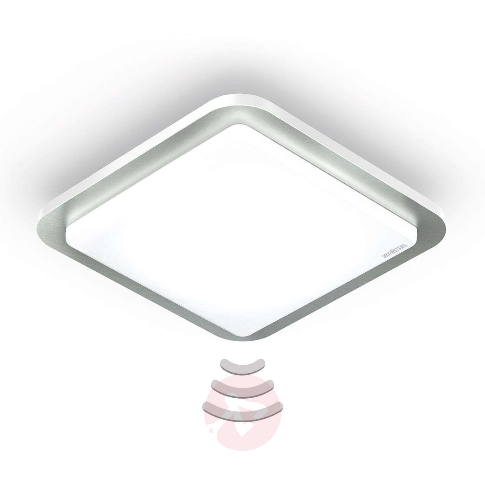 STEINEL RS D2 V3 lampa sufitowa LED stal